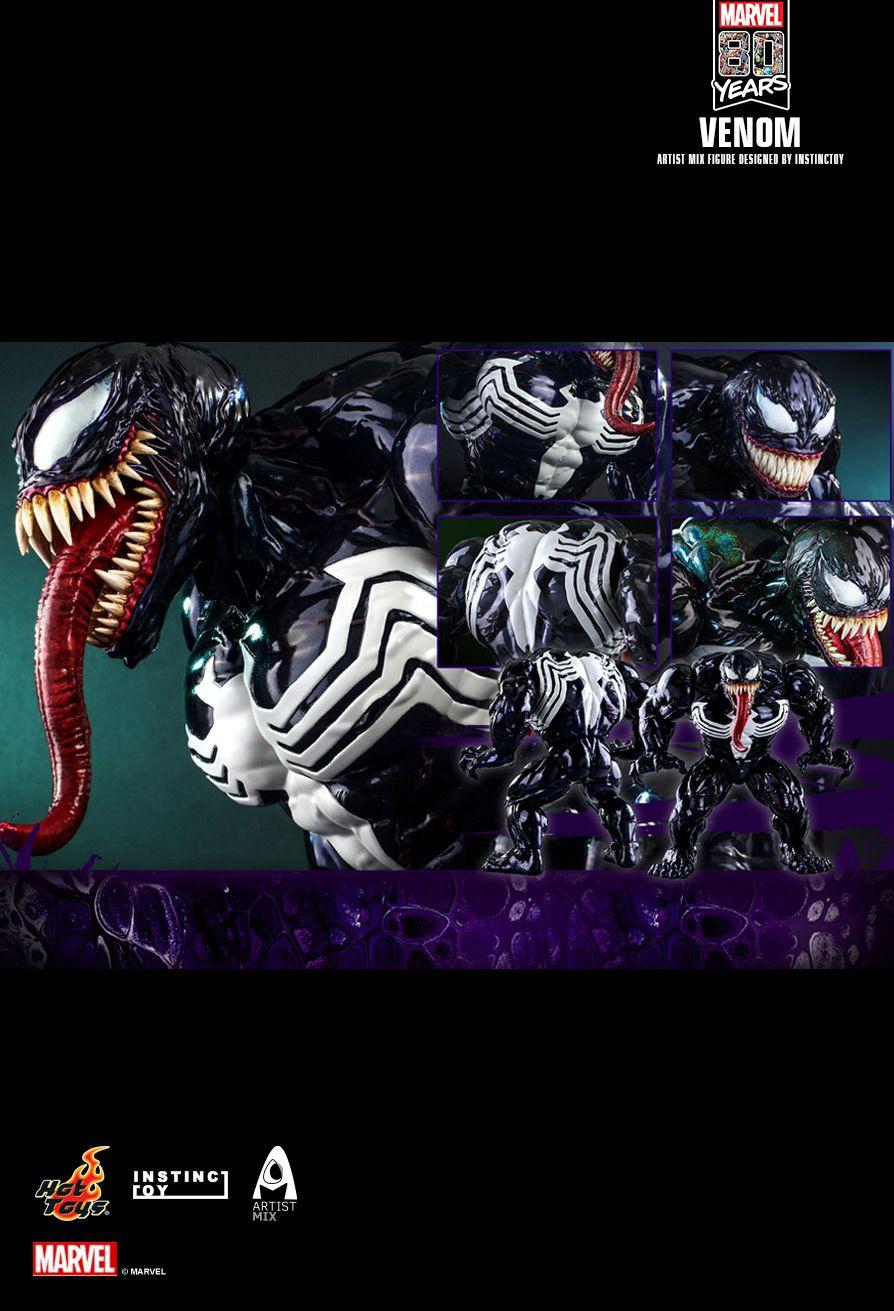 Hot Toys Celebrates 80th Marvel Anniversary With Venom