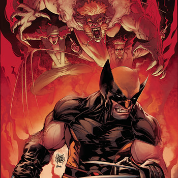The cover to Wolverine #2 from Marvel Comics, with art by Adam Kubert and Frank Martin.