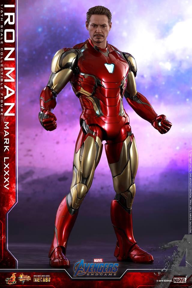 Hot Toys Reveals Avengers: Endgame Thanos and Iron Man Figures