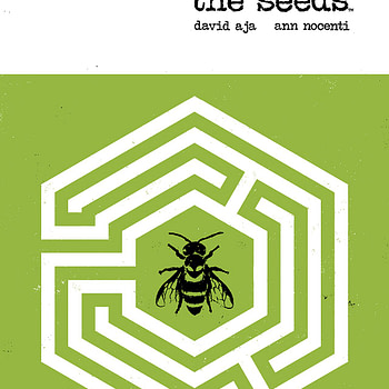 The Seeds #1 cover by David Aja