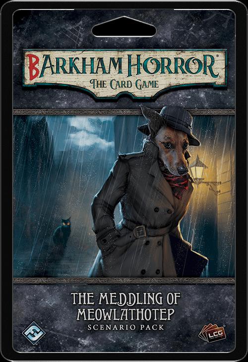 "Fantasy Flight Games Actually Releases ""Barkham Horror"""