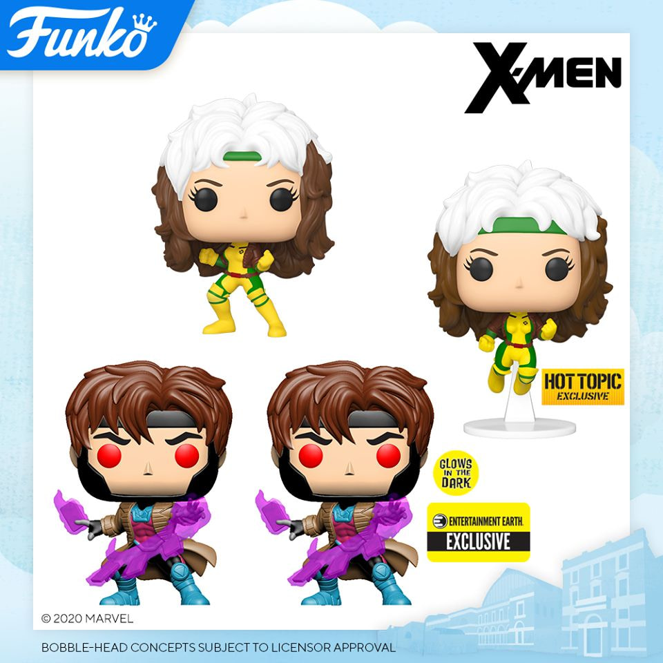 London Toy Fair Funko Pop Reveals - X-Men Rogue and Gambit