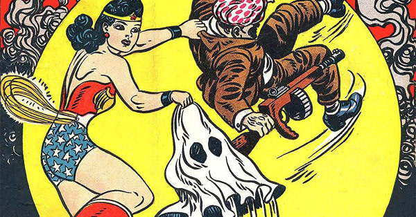 Wonder Woman Co-Creator William Moulton Marston On Nazis' Problem With Women