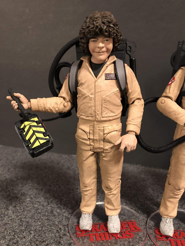 McFarlane Toys Stranger Things Ghostbusters Set 4