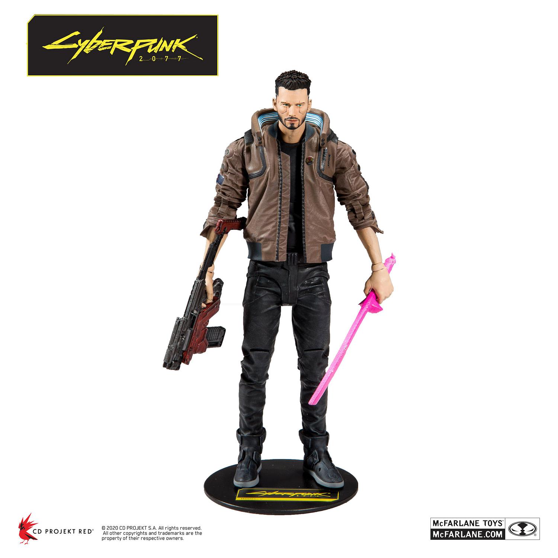 Keanu Reeves is a Badass Mercenary Rockstar with McFarlane Toys