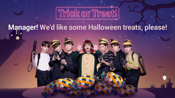 """""""BTS World"""" Adds It's Own Halloween Themed Update"""