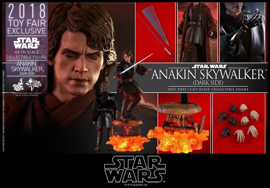 Hot Toys SDCC Exclusive Anakin Skywalker 12