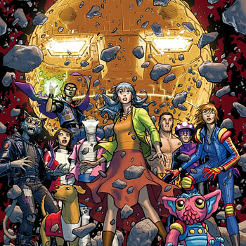 DC Cancels Doom Patrol: Weight of The World With #7