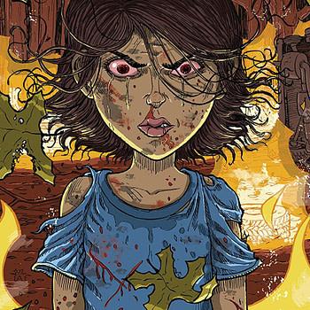 Redneck #11 cover by Nick Pitarra