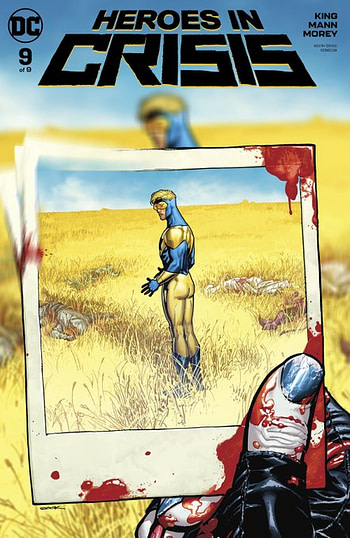 Heroes In Crisis #9 Review - A Narrative Failure With Some Lovely Vistas and Headshots