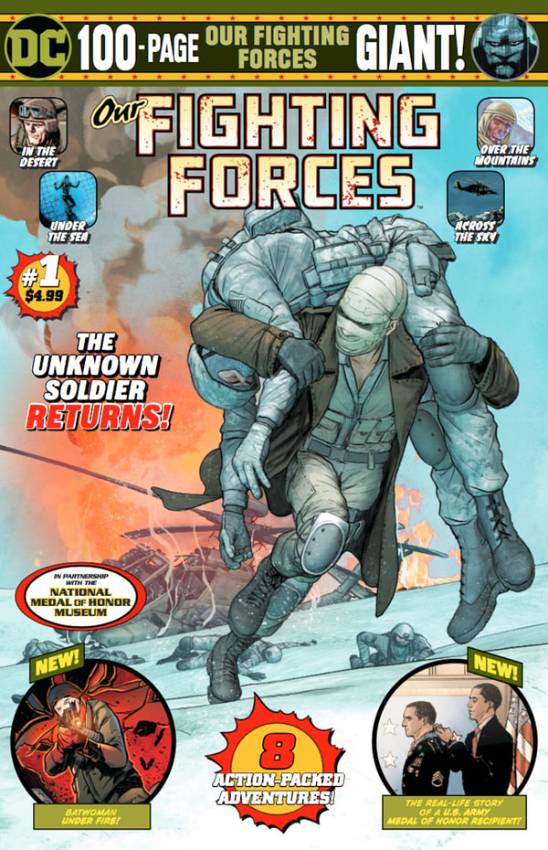 Jim Lee story in Our Fighting Forces