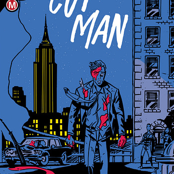 The cover to Cut-Man #1 from Action Lab Comics, with art by Robert Ahmad.