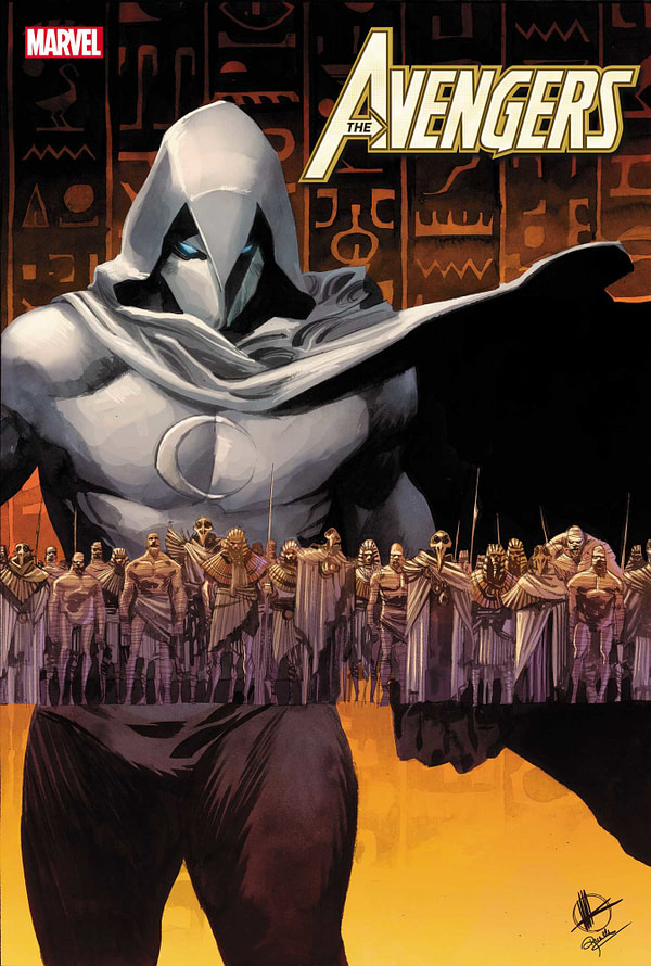 The Age of Khonshu Begins as Moon Knight Takes on the Avengers in April