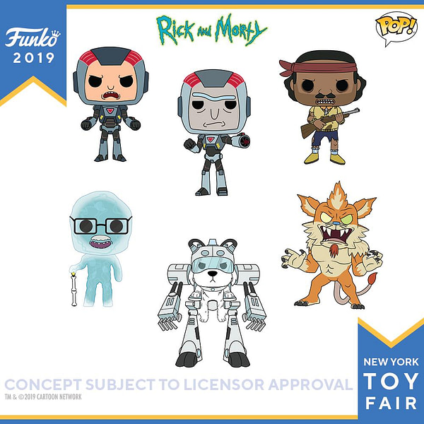 Funko New York Toy Fair Rick and Morty 1