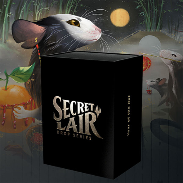 "Next ""Secret Lair"" Drop: ""Year of the Rat""! - ""Magic: The Gathering"""