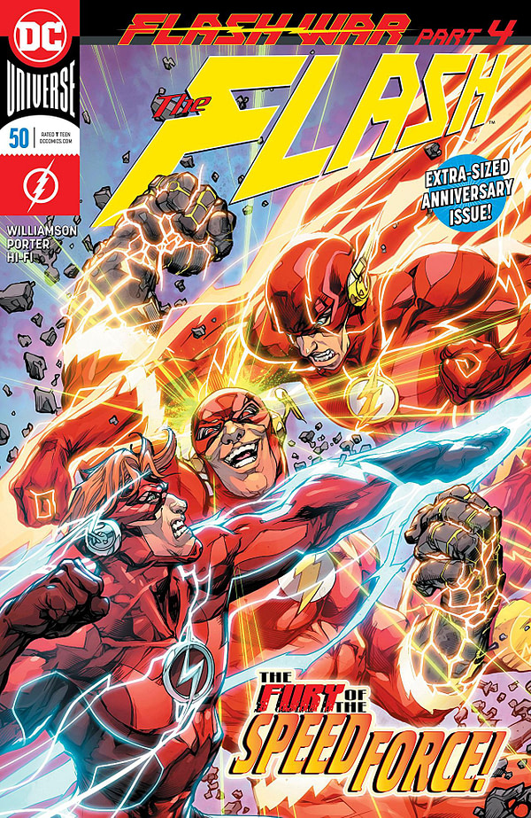 Flash #50 cover by Howard Porter
