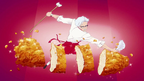 The KFC Colonel Sanders Dating Sim Is Real