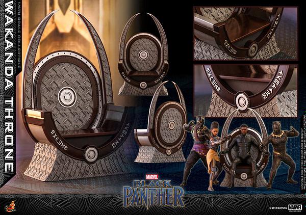 Black Panther Wakanda Throne Hot Toys 11