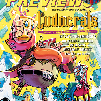 Kieron Gillen's The Ludocrats, With Garth Ennis' The Boys on Cover of Nezt Week's Diamond PRreviews
