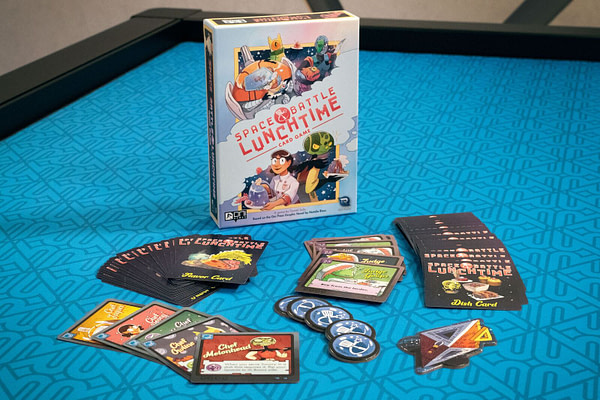 """""""Space Battle Lunchtime"""" Being Adapted to a Card Game!"""