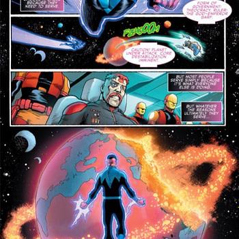Sinestro Year of the Villain #1