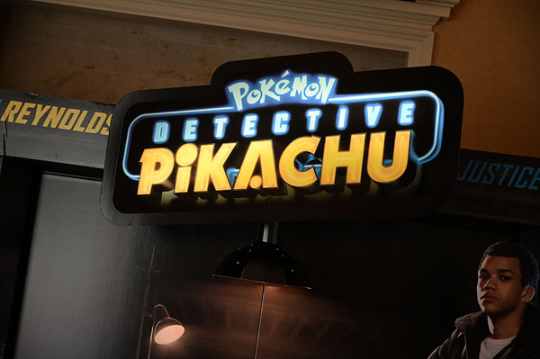 [CinemaCon 2019] New Standee and Poster for Dective Pikachu