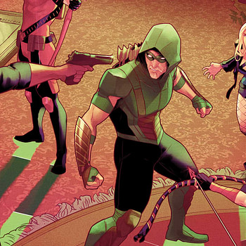 Green Arrow Annual #1 cover by Jamal Campbell