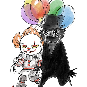 Pennywise and the Babadook