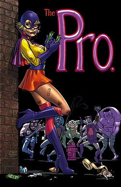 The Pro cover art by Amanda Conner