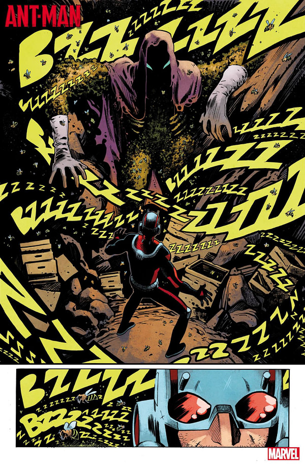 A Deadly Bee Weapon... My God! in this Ant-Man #1 First Look Preview