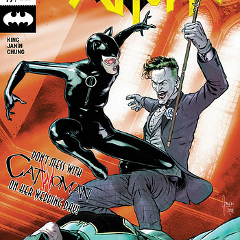 Batman #49 cover by Mikel Janin