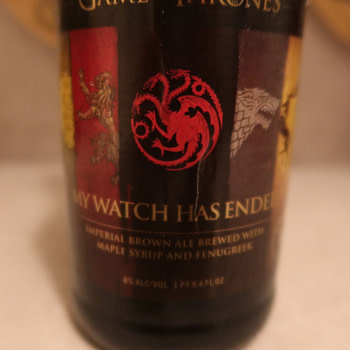 """Review: """"Game Of Thrones"""" - """"My Watch Has Ended"""" Beer By Ommegang"""