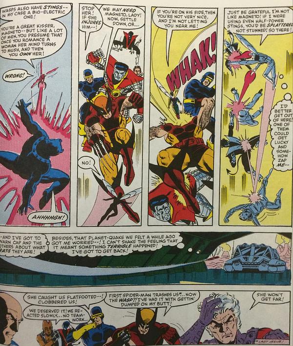 Wasp vs. the X-Men