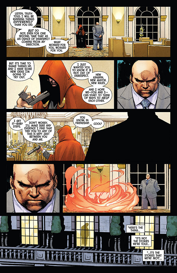 Defenders #10 art by David Marquez and Justin Ponsor