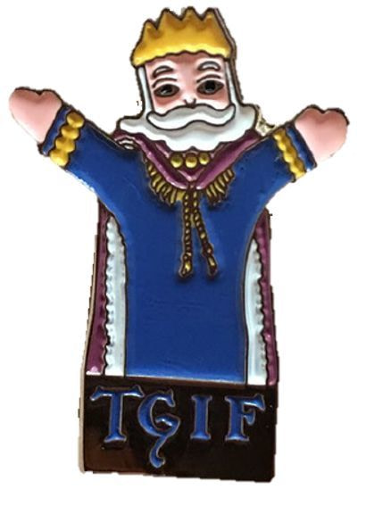 Mr Rogers TGIF Pin SDCC