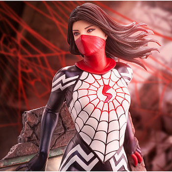 Silk Enters the Spider-Verse with New Kotobukiya Statue