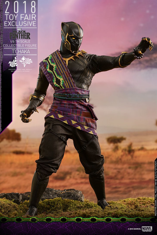 Hot Toys T'Chaka Black Panther 12