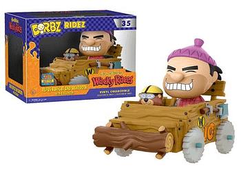SDCC Funko Hanna Barbera Wacky Races Rufus Ruffcoat and Sawtooth Dorbz