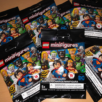 LEGO DC Comics Mystery Bags Have Arrived