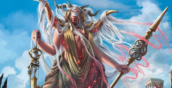 """""""Klothys, God of Destiny"""" Card Revealed - """"Magic: The Gathering"""""""