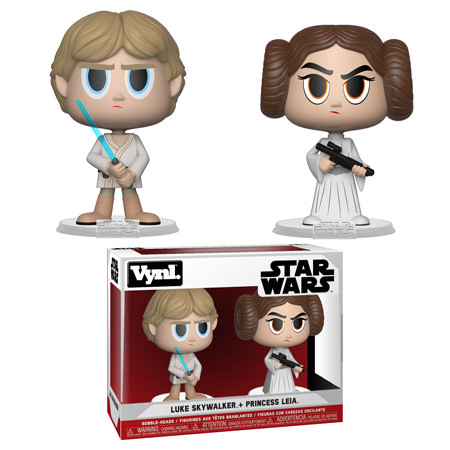 Funko Star Wars Vynl Pack Luke and Leia