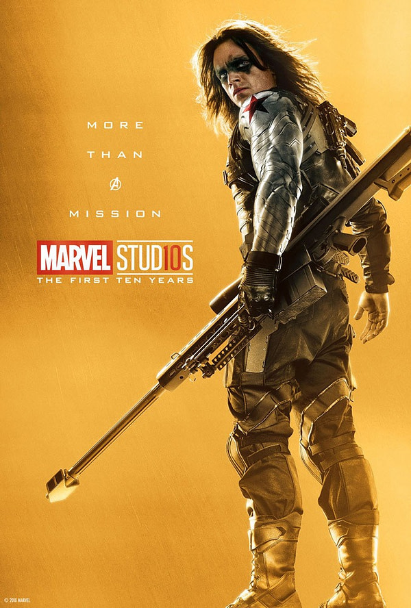 Marvel Studios More Than A Hero Poster Series Bucky