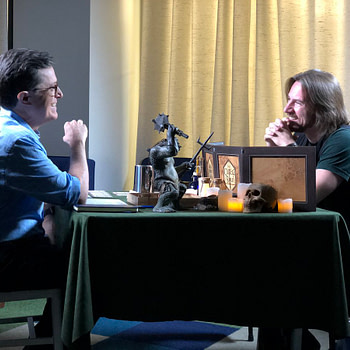 Watch Stephen Colbert Play D&D With Matthew Mercer for Red Nose Day