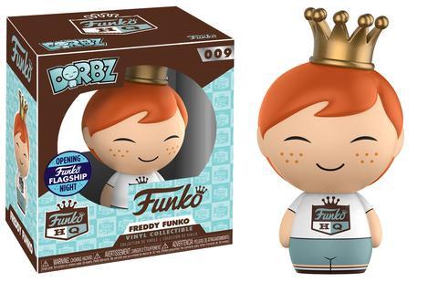 Funko HQ Grand Opening Freddy Dorbz