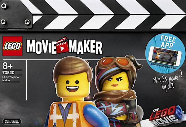 LEGO Movie 2 Movie Maker Set 1