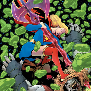 Kevin Maguire's New Cover to Supergirl #33 as Retailers Promised They Will Get Freight Credit For Destroying First Prints