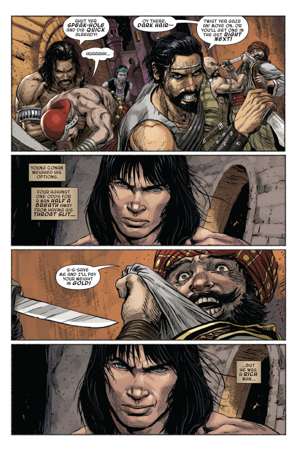 Savage Sword of Conan #7: Shadizarian Wealth Inequality [Preview]