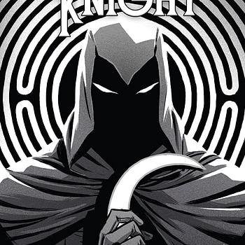 Moon Knight #198 cover by Becky Cloonan