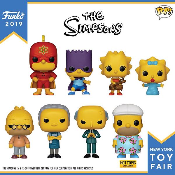 Funko New York Toy Fair The Simpsons