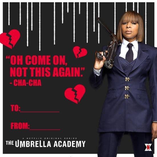 umbrella academy valentines